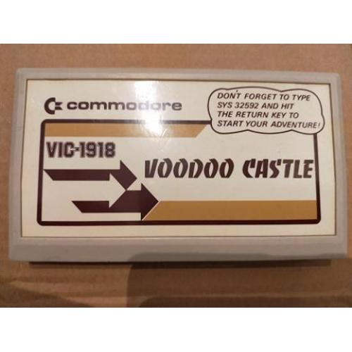 Commodore VIC 20 Voodoo Castle VIC-1918
