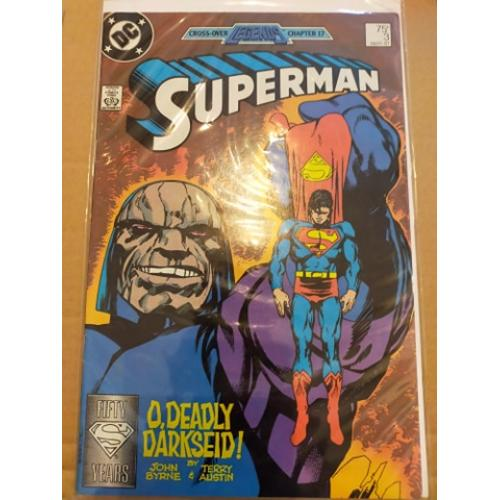 DC Comics Superman Volume 2 #1-3 1987